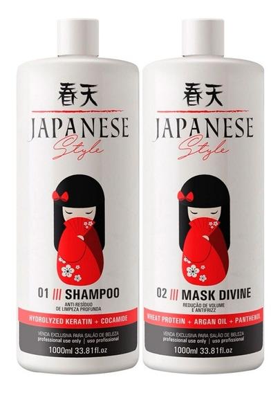 Escova Progressiva Japonesa Style Fioperfeitto 2x1000ml
