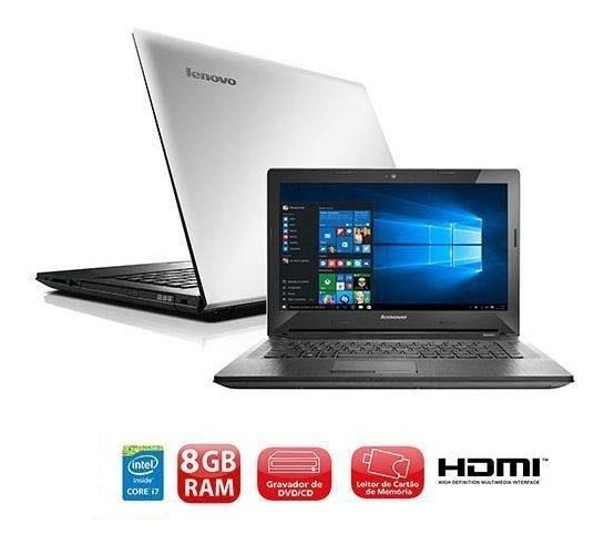 Notebook G40-80 Intel I7 8gb 2gb Dedicada 1tb 14 Windows 10