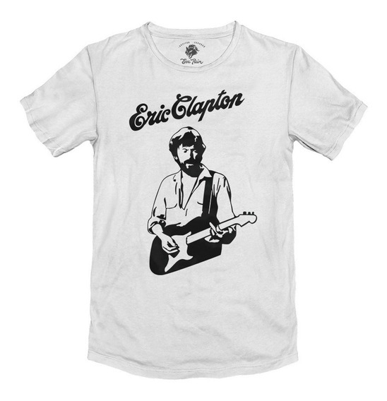 Remera Rock Eric Clapton Algodón Peinado 24/1 Premium