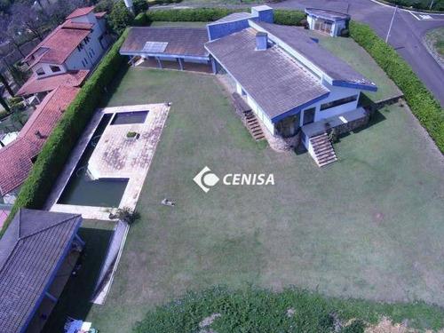 Chácara Com 4 Dormitórios À Venda, 3000 M² - Condomínio Vale Das Laranjeiras - Indaiatuba/sp - Ch0160