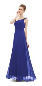 Vestido Fiesta Negro Azul Rojo Burdeo Morado Talla 6 8 10