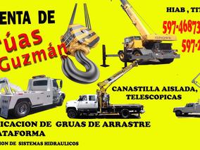 Renta De Gruas Canastilla, Hiab, Titan, Telescopicas