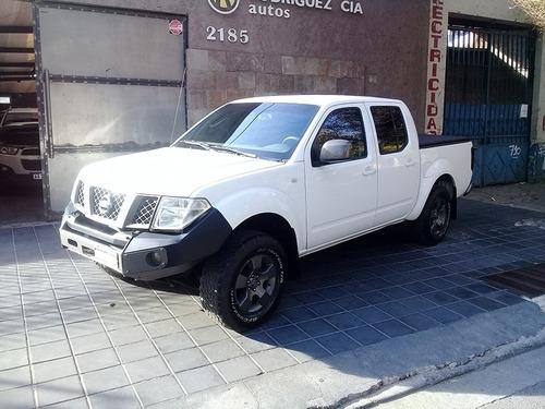 Nissan Frontier C/doble 2.5 Td At 4x4 Cuero (172cv) 2011 Mza