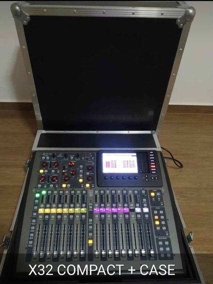 X32 Compacta+case Aceito $11000 A Vista