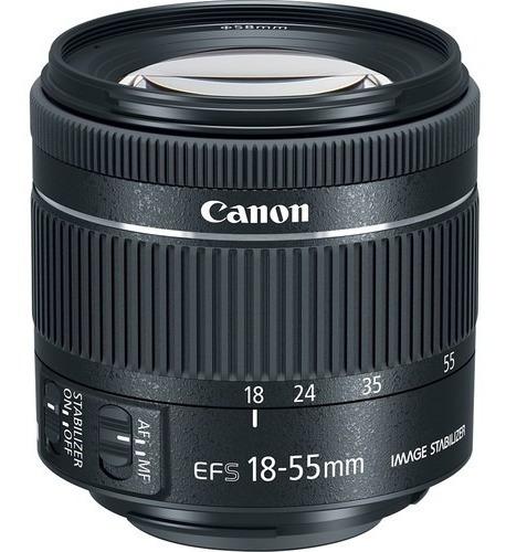 Lente Canon Ef-s 18-55mm Is Stm Garantia Novo