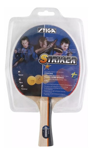 Raqueta De Ping Pong Stiga Striker ¡envio Gratis!