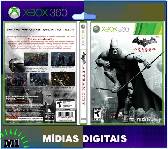 Batman Arkham City Xbox 360 Download Na Live Xbox