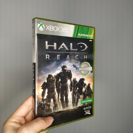 Jogo Xbox360 Halo Reach Original Em Português