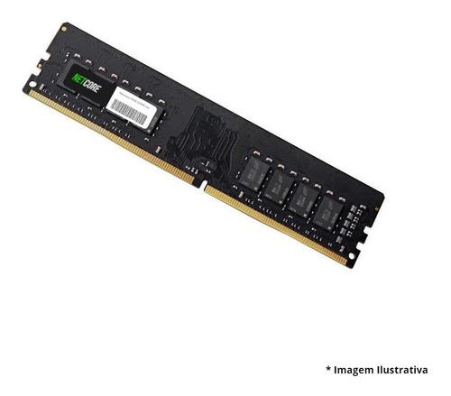 Imagem 1 de 2 de Memoria Para Pc Ddr4 8gb 3200 Netcore - 3191