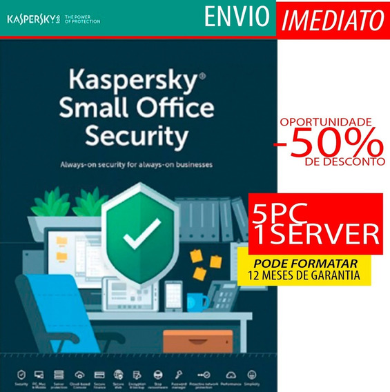 Kaspersky Small Office Security 5 Pc + 1 Servidor