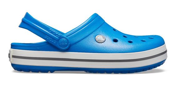 Sandalia Crocs Unisex Crocband Azul Cobalto