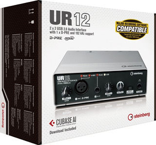 Steinberg Ur12 Placa Audio Interfaz 2 Canales Usb Interface