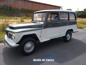 Rural Luxo Willys 68 Toda Original 90.000 Km Sem Restauro