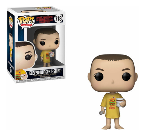 Stranger Things - Funko Pop - Eleven Hamburguesa  - Temp. 3