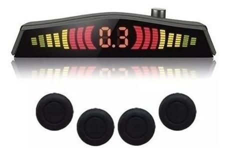 Sensor De Estac. 4 Pontos Display Ray Emborrachado Full