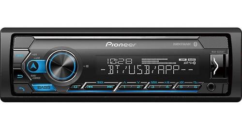 Imagen 1 de 8 de Reproductor Pioneer Smart Sync Usb Bluetooth Aux In 3.5mm