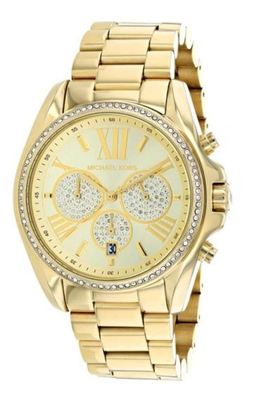 Relógio Michael Kors Feminino Bradshaw Pavê Mk6538
