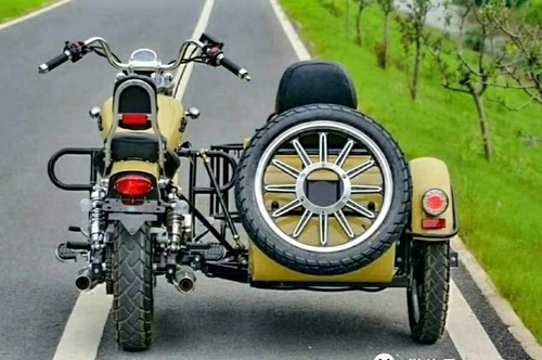 Jawa Rvm Choppera 400-9 Con Sidecar Motozuni
