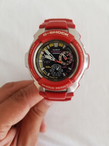 Relogio Cássio G-shock Modelo G 1010 Vermelho