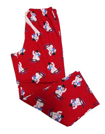 Old Navy Pantalon Pijama Navidad Muñecos Nieve Hombre Grand