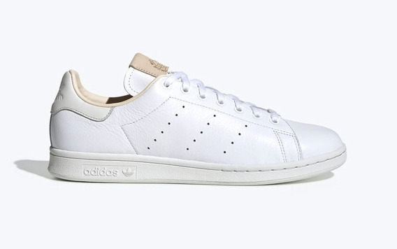 Zapatillas adidas Stan Smith Blanca-beige Unisex