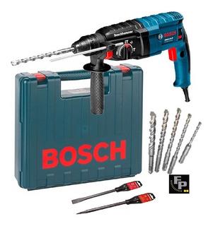 Rotopercutor Bosch Gbh 2-24 D 800w Mechas Y Cinceles