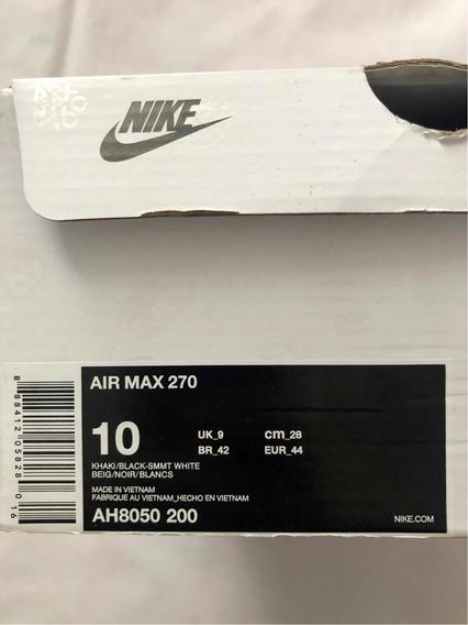 Zapstos Nike Air Max 270