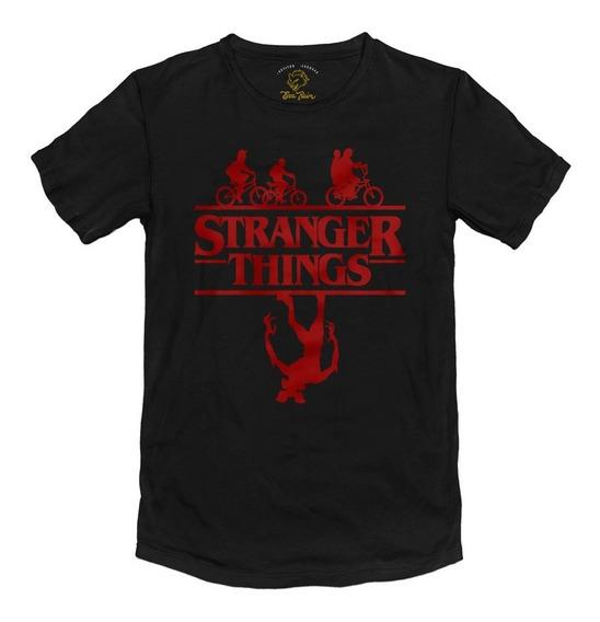 Remera Stranger Things Netflix Algodón Peinado 24/1 Premium