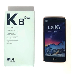 Celular Lg K8 K-240dsf Gold Dual Sim 16gb/4g Android 6.0