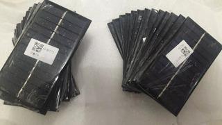 Placa Painel Solar Fotovoltaico 6v 1w 200mah 11x6 Cr 13,00