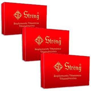 Combo 3 Streng Suplemento Vitamínico Oral 16 Frascos 5ml