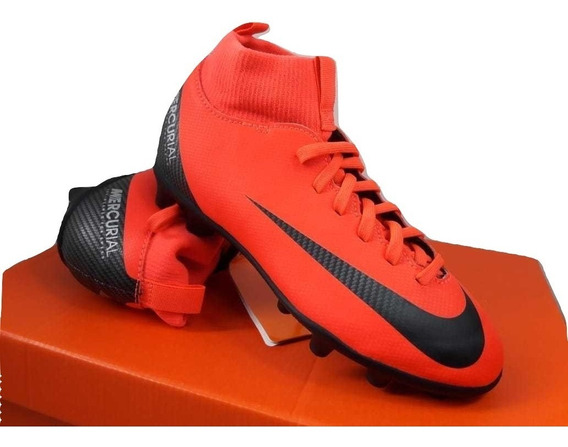 Chuteira Nike Superfly 6 Club Cr7 Campo - Infantil