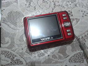Camera Fotografica Yashica Ezf 524 Mk-ii Vermelha Rara!