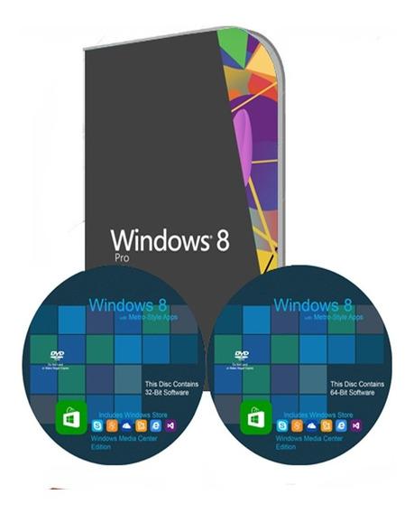 Cd Formatação Windows 8 Pro 32/64 + Office