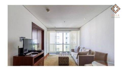 Imagem 1 de 15 de Flat Com 1 Dormitório À Venda, 60 M² Por R$ 600.000,00 - Itaim Bibi - São Paulo/sp - Fl0273