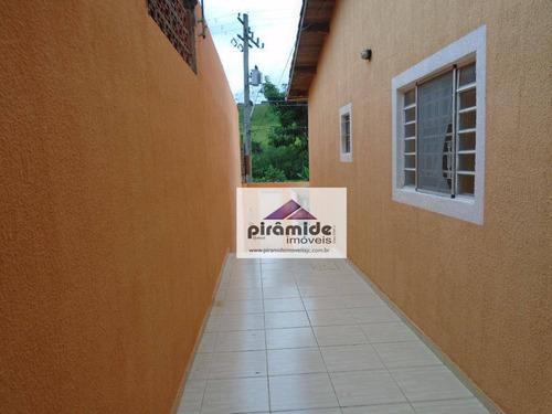 Casa Com 3 Dormitórios À Venda, 90 M² Por R$ 250.000,00 - Jardim Paraíso Do Sol - São José Dos Campos/sp - Ca2208