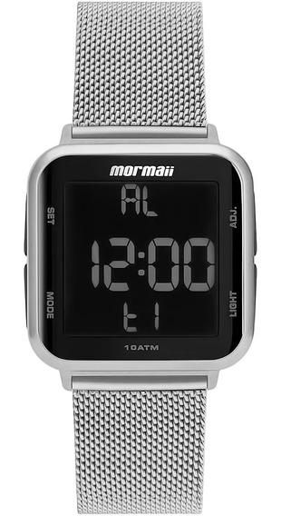 Relógio Feminino Digital Mormaii Mo6600af/8j Barato Original