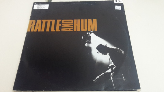 U2 Rattle Hum Acetato en Mercado Libre México