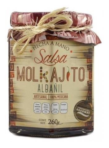 Salsas Molkajito Caja Con 12 Piezas