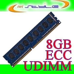 Ram 8gb 1600mhz Ddr3 Ecc Udimm 240pin P/ Ibm X3100 M4