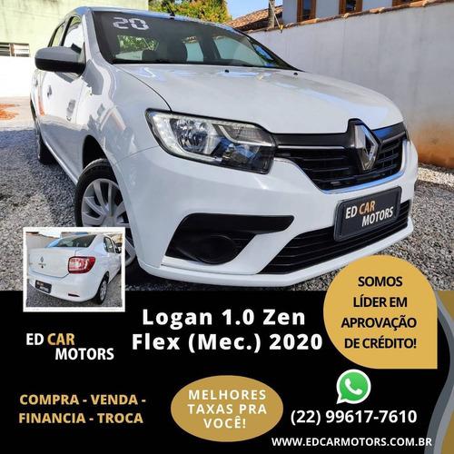 Imagem 1 de 8 de Renault Logan 1.0 12v Sce Flex Zen Manual