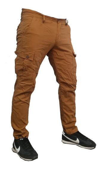 Pantalon Cargo Chupin Gabardina -solo Mercadenvios- .
