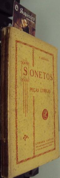 Sonetos E Peças Líricas - Arthur De Azevedo - 1ª Edição