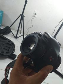 Camara Profissional Canon T3i + Lente 50 Mm