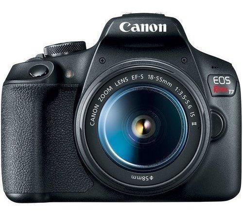 Canon Eos Rebel T7 Com Lente 18-55mm
