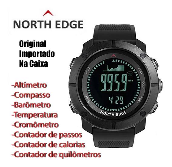 Relógio North Edge Apache Altímetro, Bússola, Barômetro...