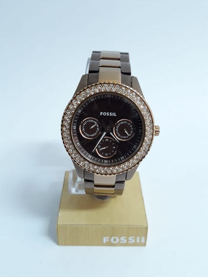 Relógio Fossil Fes2955z + Garantia De 2 Anos + Nf