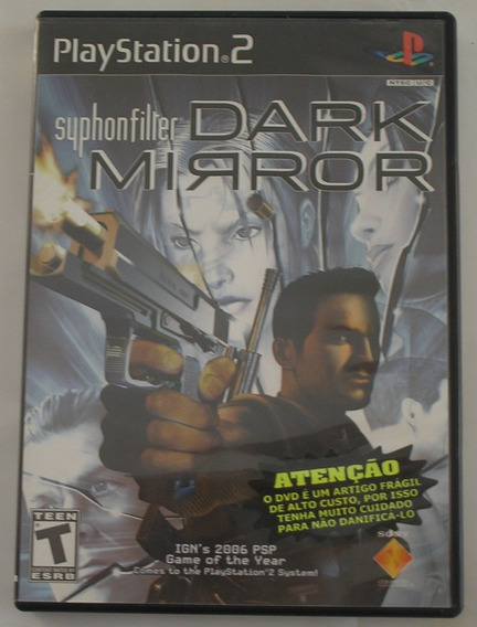 Syphon Filter Dark Mirror Ps2 Original Usado