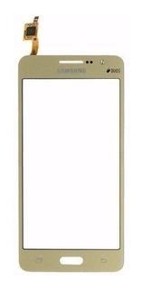 Tela Touch Screen Samsung Gran Prime G530 G531 Duos Dourado