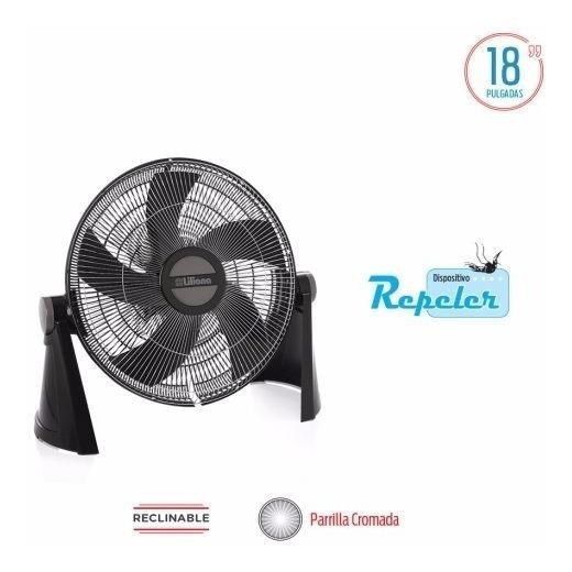 Turbo Ventilador Liliana 18 Vtfc18 Rejilla Cromada 75w